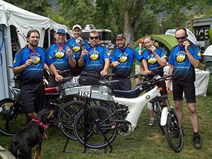 Pikes Peak Optibike Team Photo