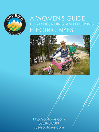 A women's guide to buyding riding and enjoying electric bikes