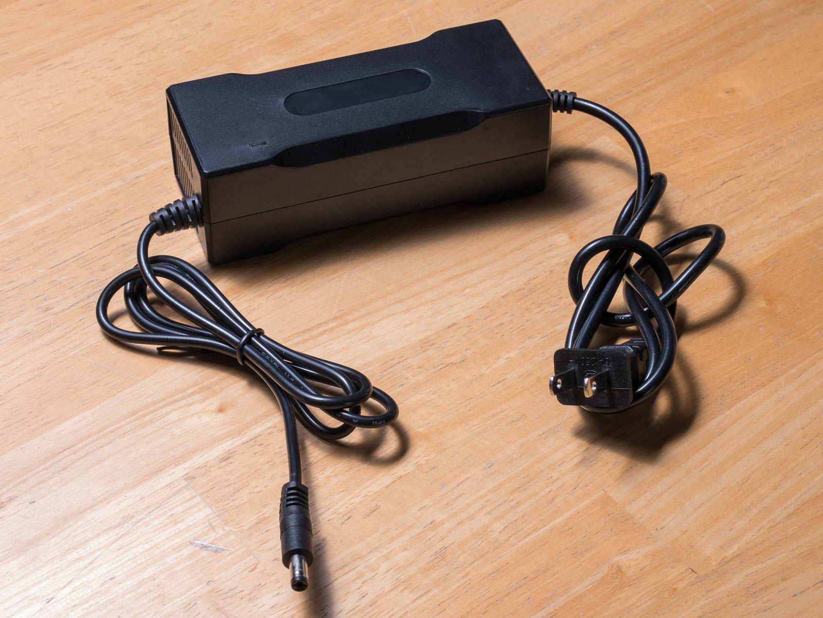 A lithium battery charger used for an optibike pioneer