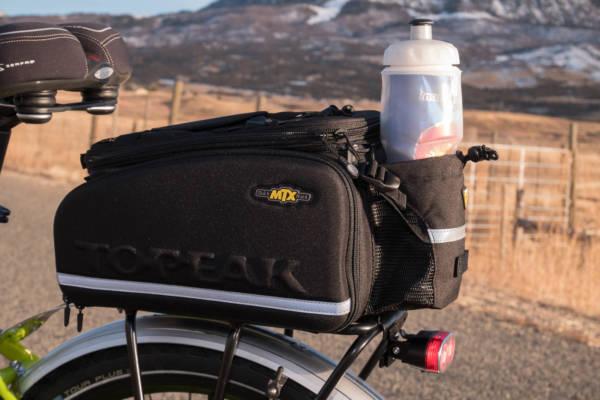 Topeak MTX Trunkbag DXP on Pioneer Allroad