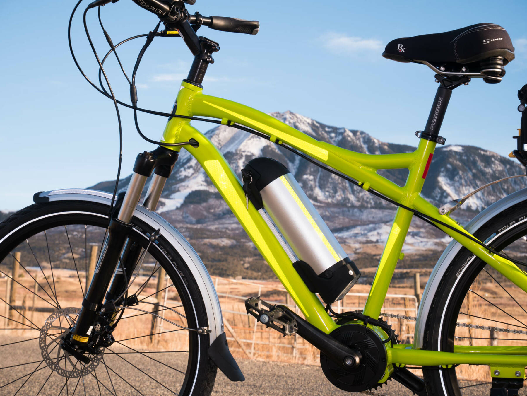 Rocky Mountain Commuter Side View