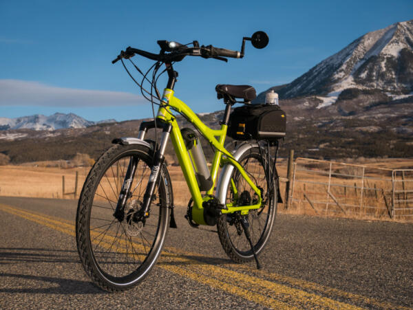 Rocky Mountain Commuter Angle view