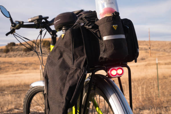 Rocky Mountain Commuter Cargo Bag with Water Bottle