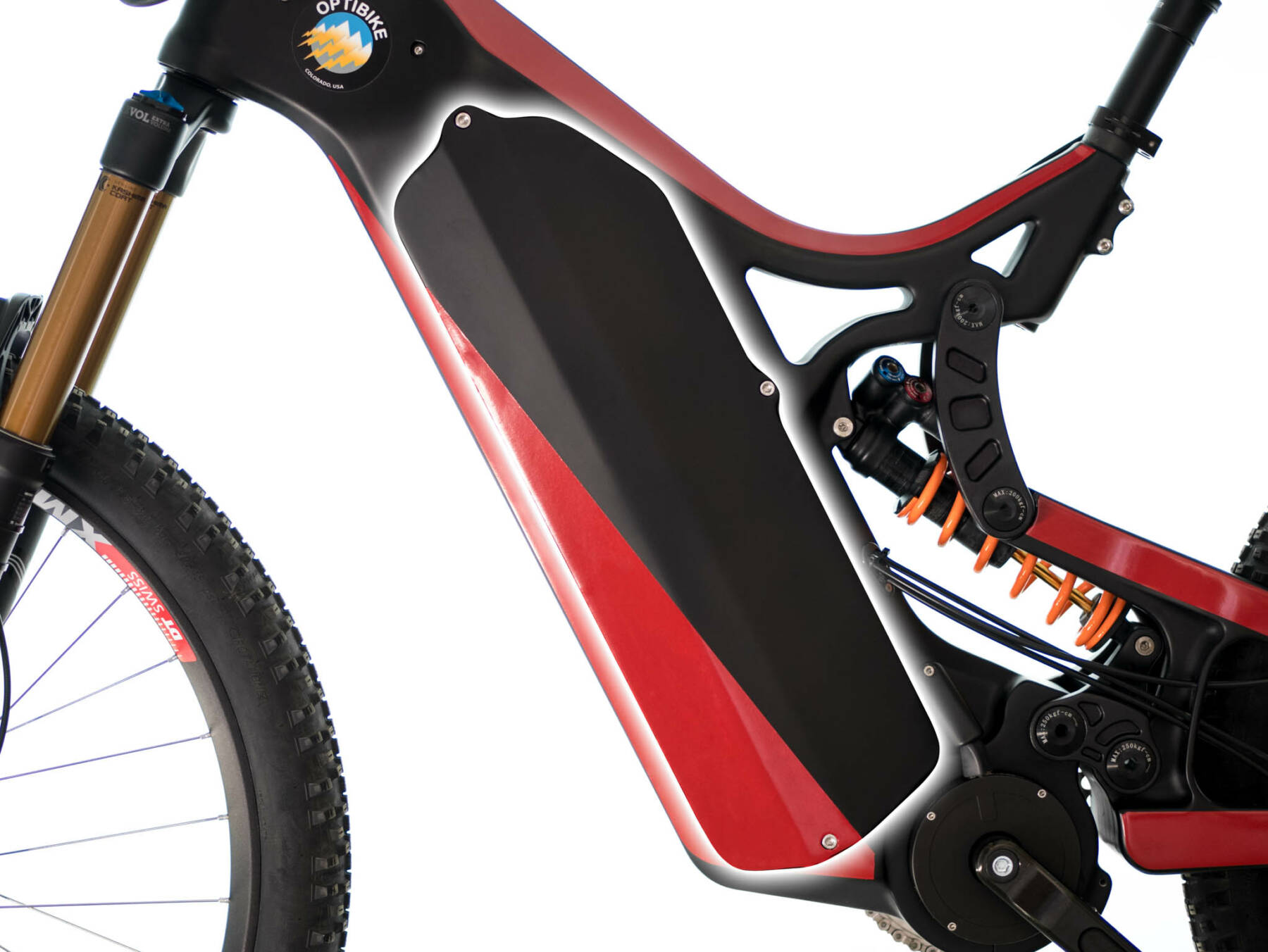 Optibike R15C Removable Battery