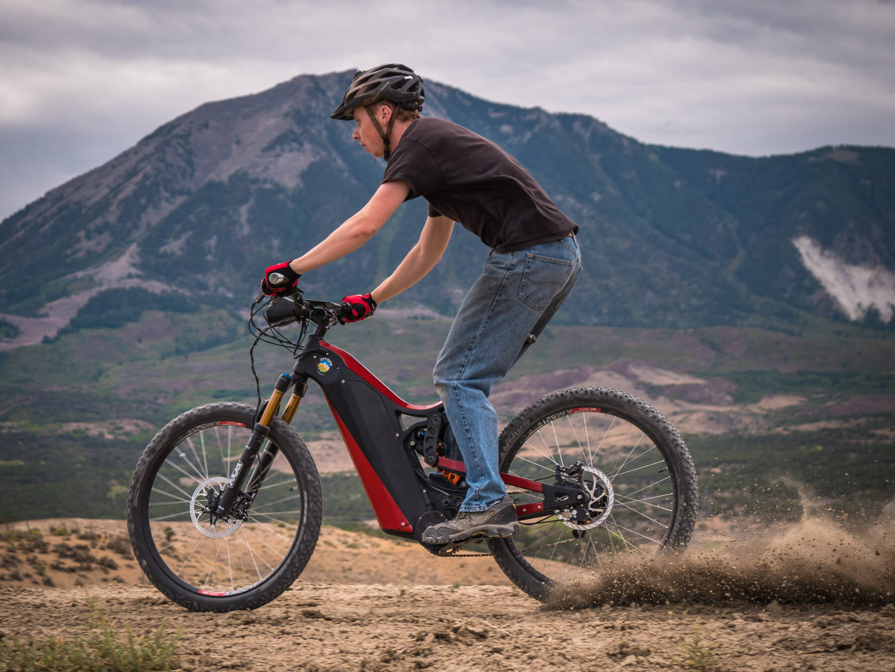 85cf9439982 R15C Full Carbon Electric Mountain Bike • Optibike