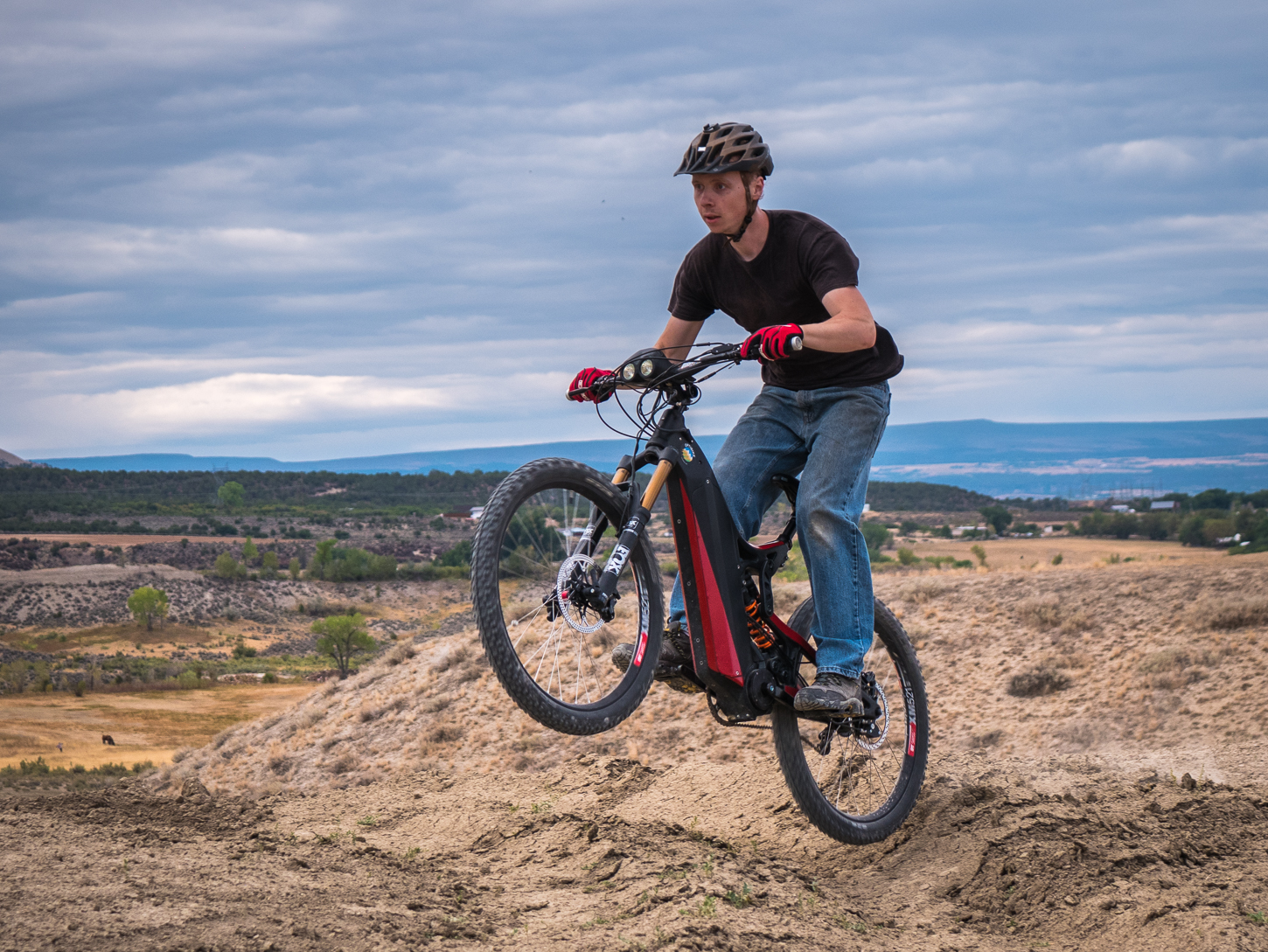 The Optibike R15C has plenty of torque to get you up and over any terrain