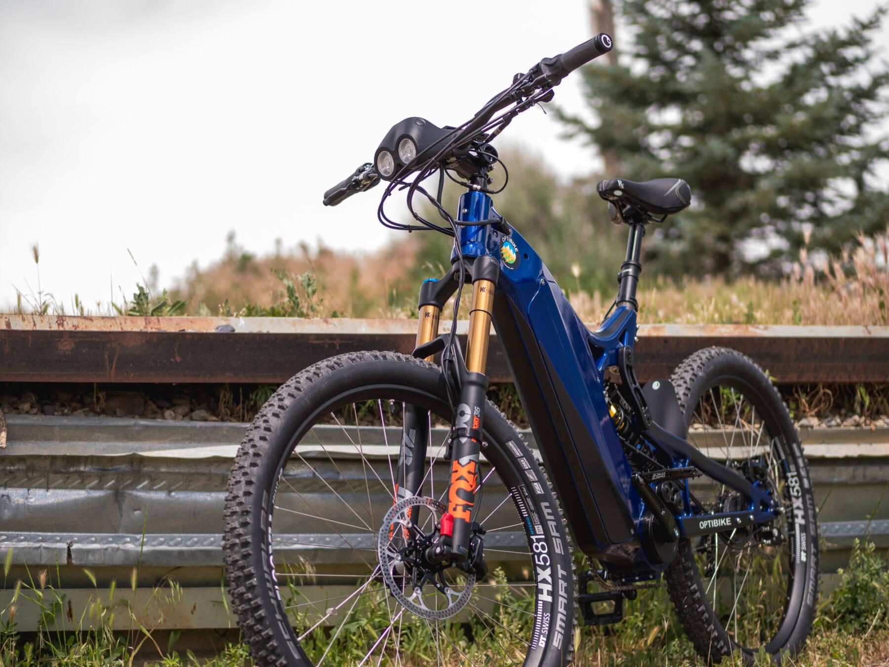 Optibike R15C High Performance eMTB E-Bike with Blue Paint