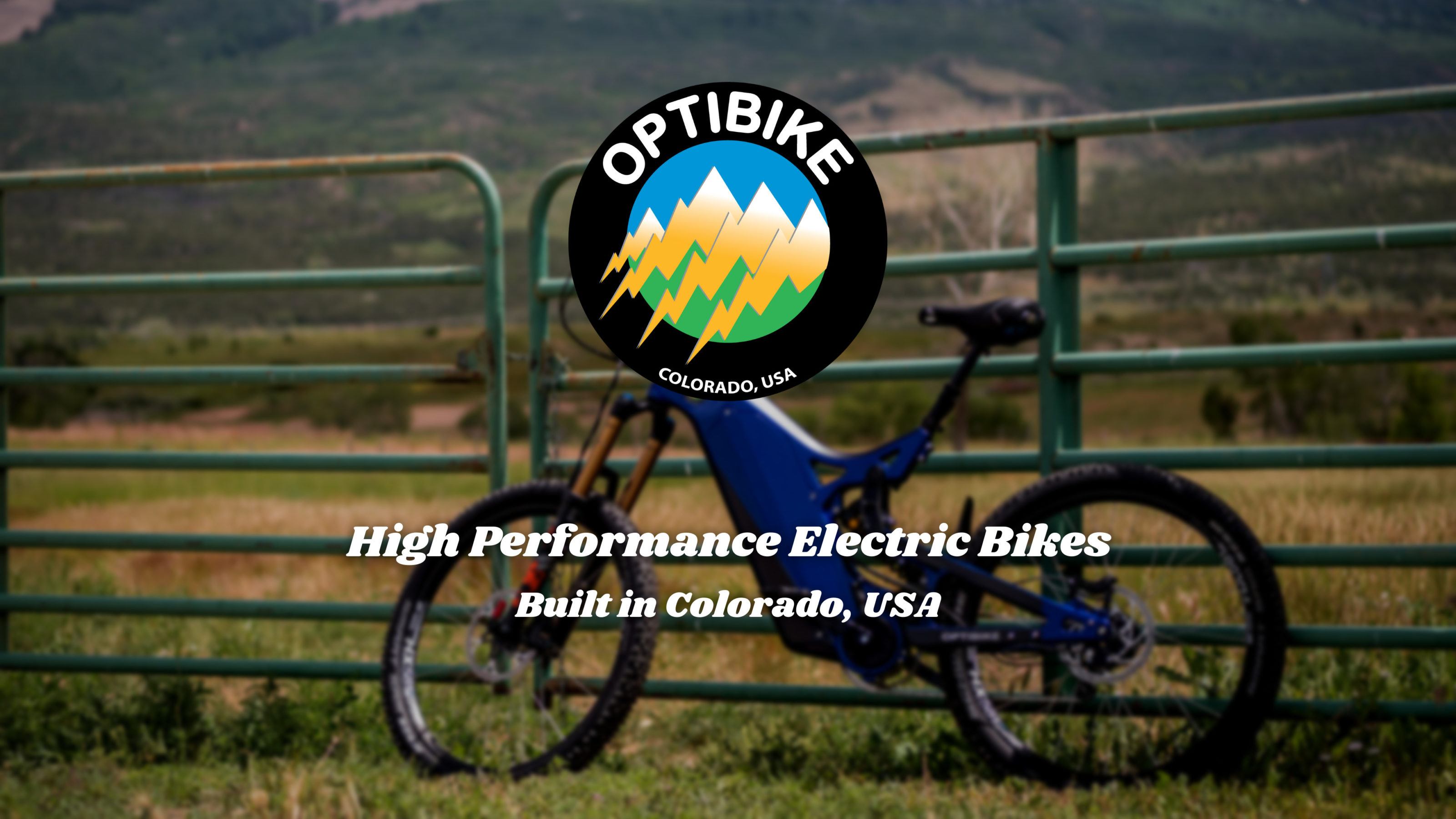 High Performance Electric Bikes, Built in Colorado, USA