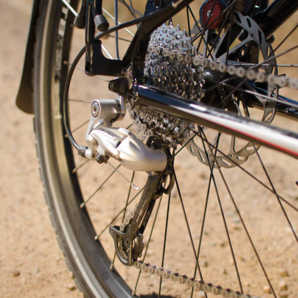 Pioneer Allroad shifter and disk brake
